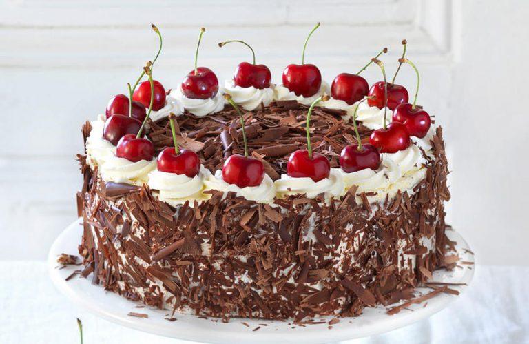 Торт «Черный лес» в мультиварке